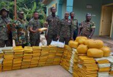Photo of Volta Region: Immigration Service intercepts 607 parcels of Indian hemp at Wli Todzi