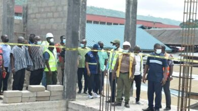 Photo of Minister Inspects Ongoing Projects In Ho Municipality