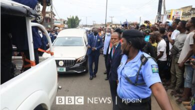 Photo of Photos: Prophet TB Joshua laid in state at Synagogue Church of All Nations