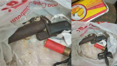 Photo of Police intercepts weapon concealed in food for inmate; suspect on the run