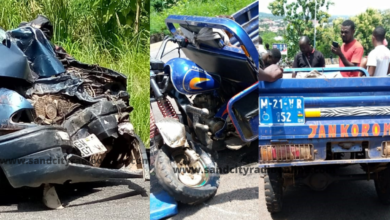Photo of Ho: Scores Injured In Tricycle Accident [Photos]