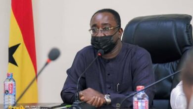 Photo of Dr.Afriyie Akoto Donates 20,000 Gh Cedis and 500 Bags of Cement towards the Building of the Volta NPP Office