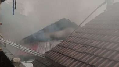 Photo of Fire destroys parts of Makola shopping mall