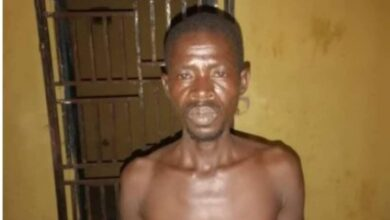 Photo of 'The devil led me to kill my wife' — Suspect confesses to Police