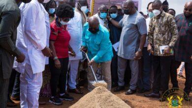 Photo of African Games 2023: Akufo-Addo cuts sod for $145m Borteyman Sports Complex