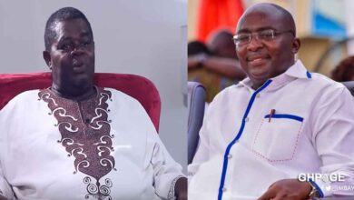 Photo of Vice President Dr. Bawumia Pays Five Years Rent Of 30k Plus 20k Allowance For Veteran Actor T.T