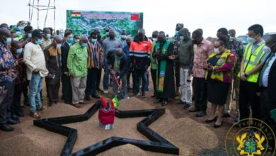 Photo of Ho: Nana Addo cuts sod for phase II of US$60M UHAS expansion project