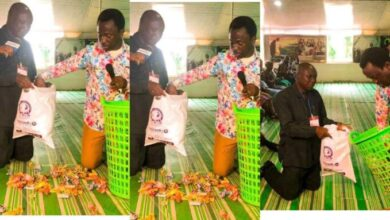 Photo of Apostle Victor Hunpkati Donates All Of Church's Offering To Struggling Church Member