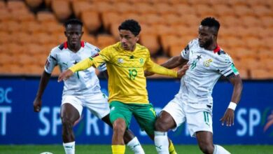 Photo of 2022 World Cup Qualifiers: Ghana loses to South Africa by lone goal