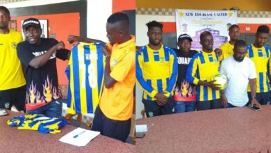 Photo of Lilwin Signs As A New Player Of New Edubiase United (Video)