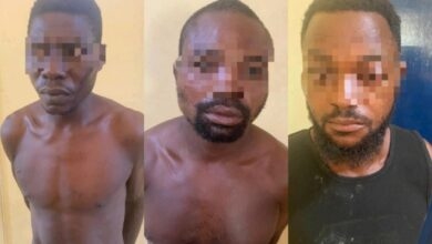 Photo of Three Suspected Murderers Arrested; Attempt to sell Victim's Body for Ghc 7K